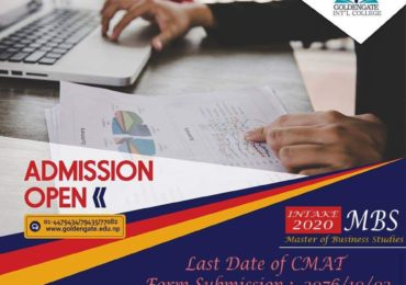 Admission Open for MBS at GoldenGate International College.